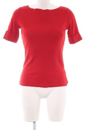 Lauren by Ralph Lauren Carmen shirt rood casual uitstraling
