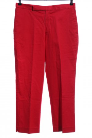 Lauren by Ralph Lauren Chinohose rot Casual-Look