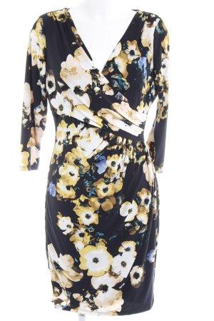 Lauren by Ralph Lauren Cocktailkleid florales Muster Elegant