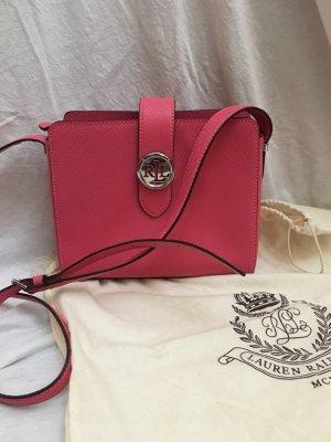 Lauren by Ralph Lauren Crossbody bag silver-colored-pink