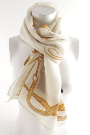 Lauren by Ralph Lauren Fazzoletto da collo bianco sporco-giallo-oro