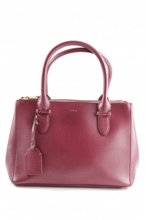 Lauren by Ralph Lauren Handtasche rot Business-Look