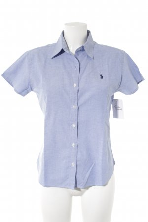 Lauren by Ralph Lauren Blouse-chemisier bleu clair style d'affaires