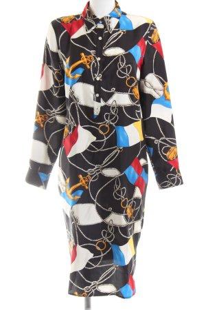 Lauren by Ralph Lauren Shirtwaist dress abstract pattern elegant