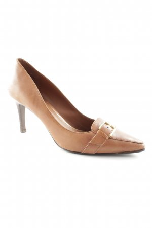 Lauren by Ralph Lauren High Heels cognac Business-Look