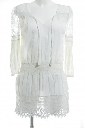 Lauren by Ralph Lauren Hippie Dress white hippie style