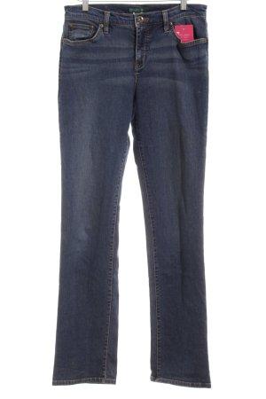 Lauren by Ralph Lauren Hüftjeans dunkelblau Jeans-Optik