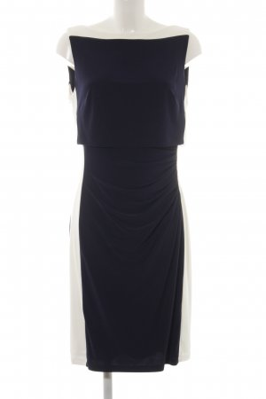 Lauren by Ralph Lauren Jerseykleid dunkelblau-weiß Elegant
