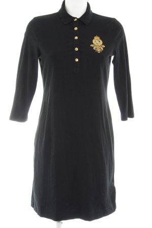 Lauren by Ralph Lauren Jerseykleid schwarz klassischer Stil