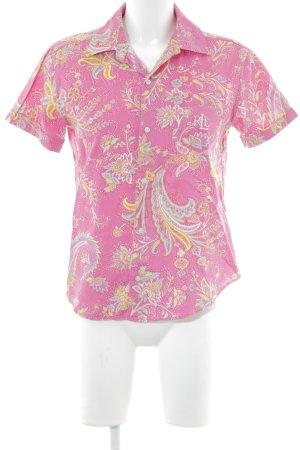 Lauren by Ralph Lauren Chemise à manches courtes motif de fleur