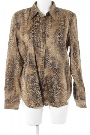 Lauren by Ralph Lauren Blouse à manches longues motif animal style extravagant