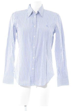 Lauren by Ralph Lauren Langarm-Bluse blau-weiß Streifenmuster Casual-Look