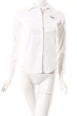 Lauren by Ralph Lauren Langarm-Bluse weiß Casual-Look