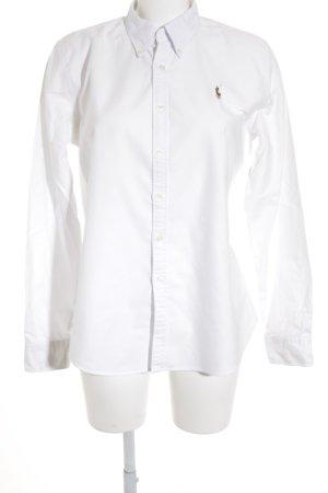 Lauren by Ralph Lauren Long Sleeve Shirt white-light brown casual look