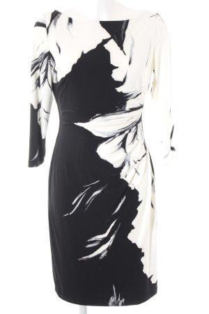 Lauren by Ralph Lauren Langarmkleid abstraktes Muster