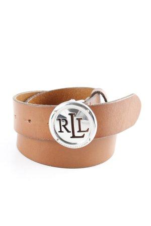 Lauren by Ralph Lauren Leather Belt cognac-coloured country style