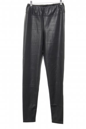 Lauren by Ralph Lauren Leggings schwarz Biker-Look