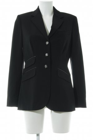 Lauren by Ralph Lauren Long-Blazer schwarz Business-Look
