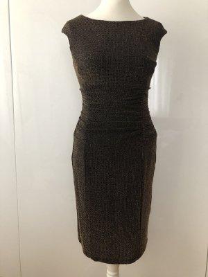Lauren by Ralph Lauren: Metallic Kleid in Gr. 6 (Dt. 38)