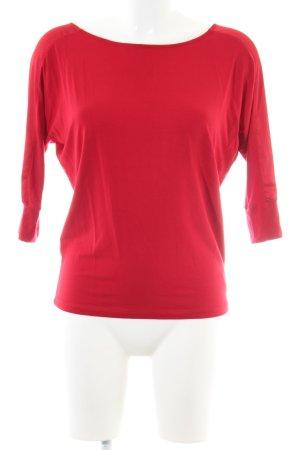 Lauren by Ralph Lauren Oversized Shirt rot Casual-Look
