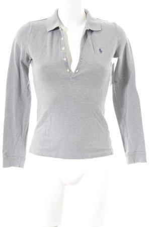 Lauren by Ralph Lauren Polo-Shirt grau Casual-Look