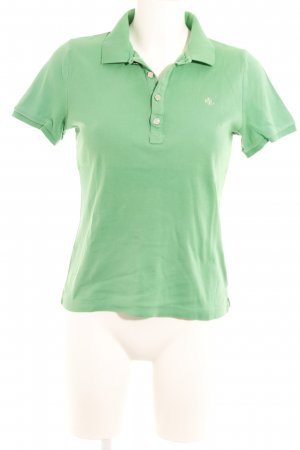 Lauren by Ralph Lauren Polo-Shirt grün Casual-Look