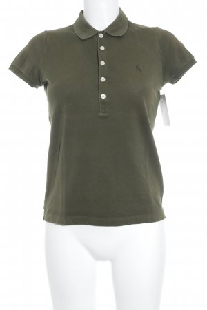 Lauren by Ralph Lauren Polo-Shirt grüngrau sportlicher Stil