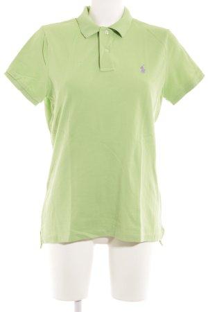 Lauren by Ralph Lauren Polo-Shirt hellgrün sportlicher Stil