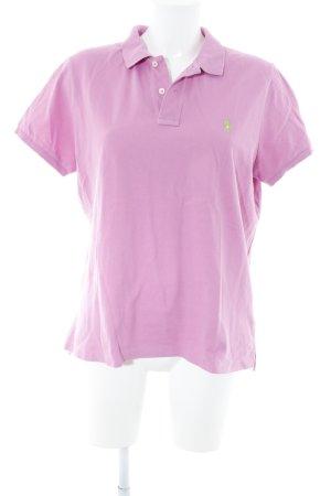 Lauren by Ralph Lauren Polo-Shirt rosa Casual-Look