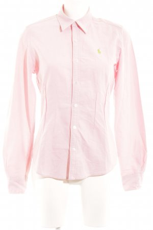 Lauren by Ralph Lauren Polo-Shirt rosé Casual-Look