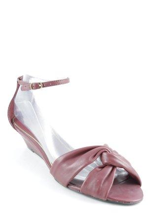 Lauren by Ralph Lauren Strapped Sandals bordeaux-carmine casual look