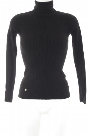 Lauren by Ralph Lauren Turtleneck Sweater black classic style