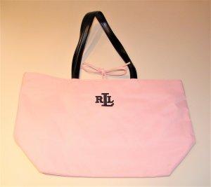 Lauren by Ralph Lauren Shopper light pink-black nylon