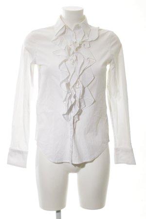 Lauren by Ralph Lauren Ruffled Blouse white business style