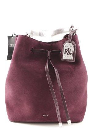 Lauren by Ralph Lauren Shoulder Bag blackberry-red casual look