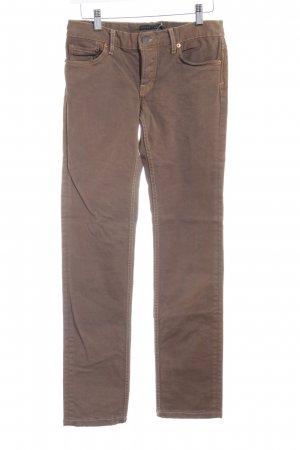 Lauren by Ralph Lauren Jeans slim fit marrone stile casual