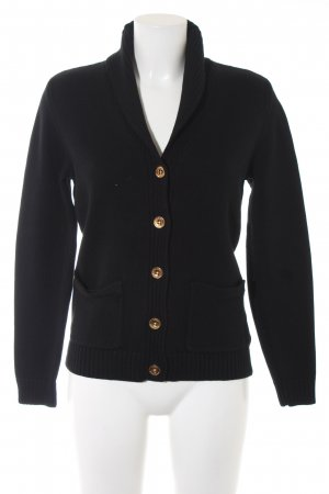 Lauren by Ralph Lauren Strickjacke schwarz Casual-Look