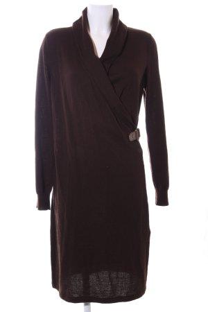 Lauren by Ralph Lauren Knitted Dress brown business style