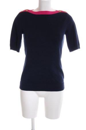 Lauren by Ralph Lauren Strickshirt blau-pink Casual-Look