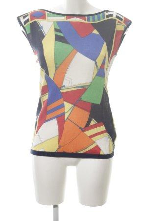 Lauren by Ralph Lauren Top lavorato a maglia motivo grafico stile casual