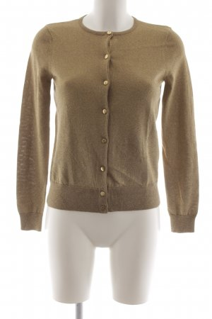 Lauren by Ralph Lauren Chaleco de punto color oro look casual