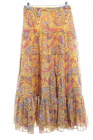 Lauren by Ralph Lauren Jupe superposée motif paisley style hippie