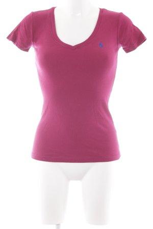 Lauren by Ralph Lauren T-Shirt magenta sportlicher Stil