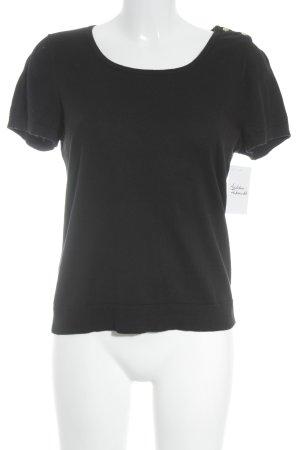 Lauren by Ralph Lauren T-Shirt schwarz Elegant