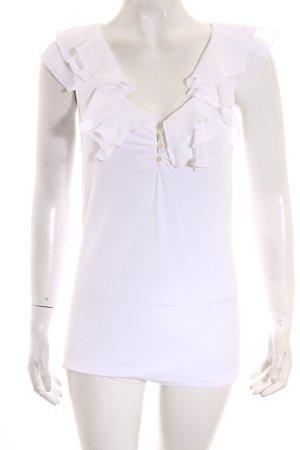 Lauren by Ralph Lauren T-Shirt weiß klassischer Stil