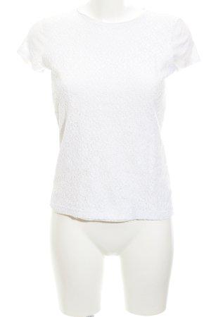 Lauren by Ralph Lauren T-Shirt weiß Spitzen-Optik
