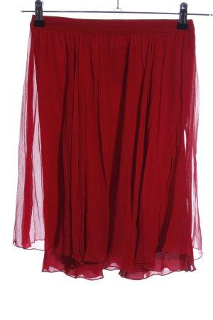 Lauren by Ralph Lauren Tulle Skirt red casual look