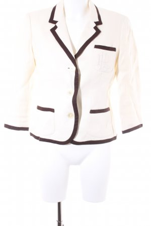 Lauren by Ralph Lauren Tweedblazer hellbeige-dunkelbraun Business-Look