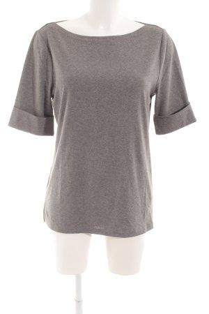 Lauren by Ralph Lauren U-Boot-Shirt grau Casual-Look