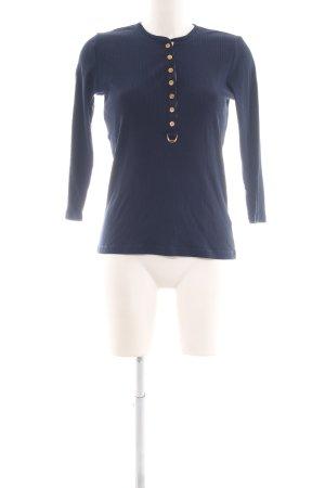 Lauren by Ralph Lauren Longsleeve blau Casual-Look